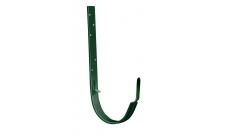 Крюк длинный полоса 125 мм RAL 6005 Зеленый мох
