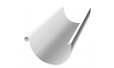 Желоб полукруглый 3 м 150/100 мм RAL 9003 Белый