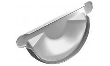 Заглушка желоба 125/100 мм RAL 9003 Белый