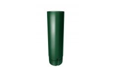 Труба круглая 100 мм 3м. RAL 6005 Зеленый мох