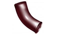 Колено стока 100мм. RAL 3005 Красное вино