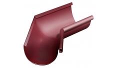Угол желоба внутренний 135 гр 125/100 мм RAL 3005 Красное вино