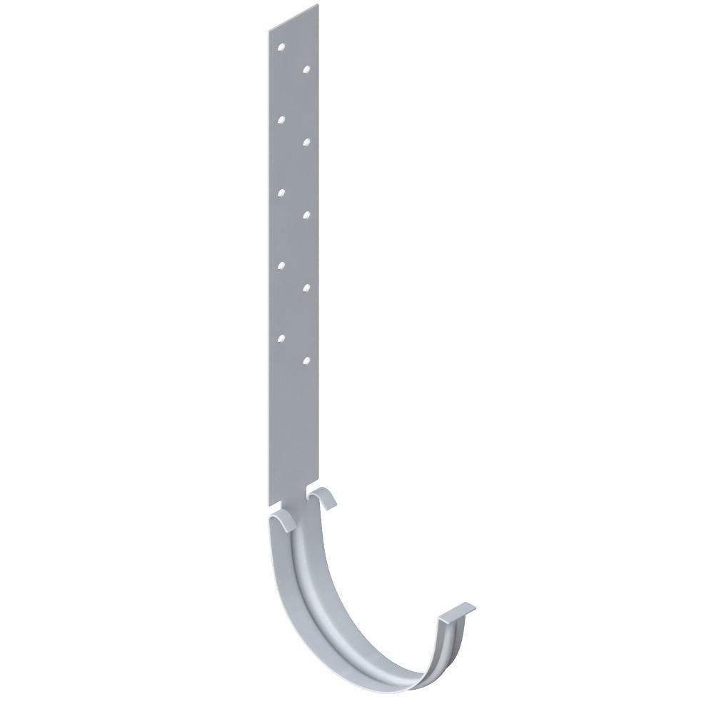 Кронштейн желоба металлический Белый 125 мм