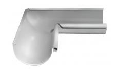 Угол желоба внутренний 90 гр 125/100 мм RAL 9003 Белый