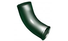 Колено стока 90 мм RAL 6005 Зеленый мох