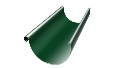 Желоб полукруглый 3 м 125/100 мм RAL 6005 Зеленый мох