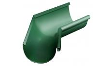 Угол желоба внутренний 135 гр 125/100 мм RAL 6005 Зеленый мох