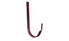 Крюк длинный 125/100 мм RAL 3005 Красное вино