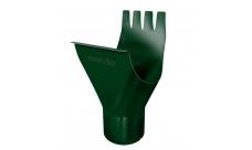 Воронка 125/100 мм RAL 6005 Зеленый мох