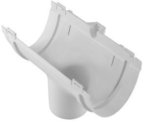 Воронка водосточная ПВХ Белый 115/74 мм