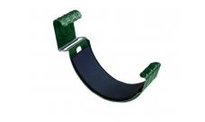 Соединитель желоба 125 мм RAL 6005 Зеленый мох