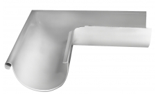 Угол желоба внешний 90 гр 125/100 мм RAL 9003 Белый