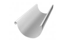 Желоб полукруглый 3 м 125/100 мм Цинк