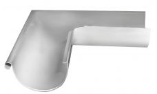 Угол желоба внешний 90 гр 150/100 мм RAL 9003 Белый