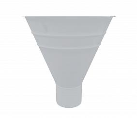 Воронка водосборная, 300/100 мм RAL 8017 9003 Белый