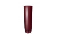 Труба круглая 90 мм 3 м RAL 3005 Красное вино